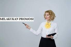 Melakukan Promosi